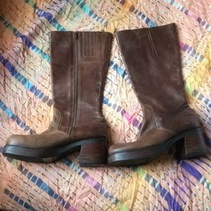 Durango women's brown leather boots size 81/2